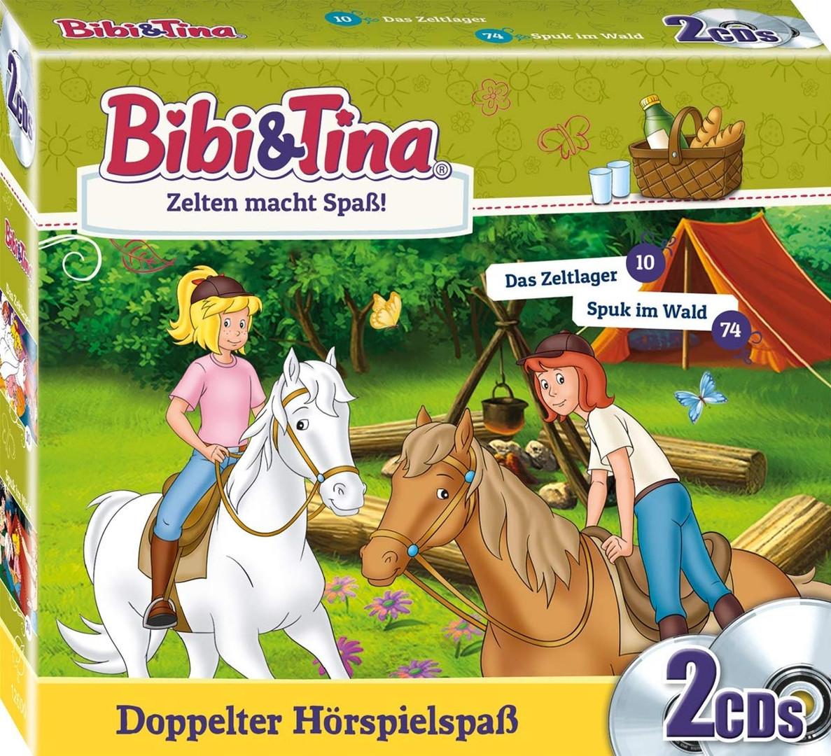bibi und tina - zelten macht spaß (2 cds) | pop.de