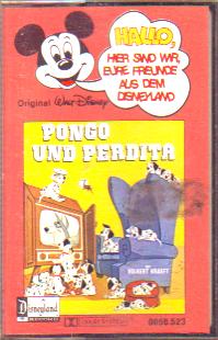 MC Disneyland Hallo Freunde Pongo und Perdita