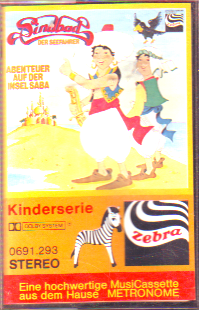 MC Zebra Sindbad Abenteuer auf der Insel Saba