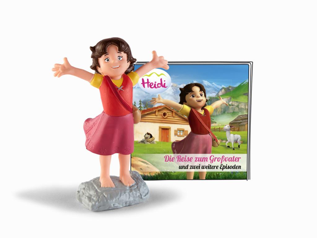 Tonie - Heidi - Die Reise zum Großvater und zwei weitere Geschichten