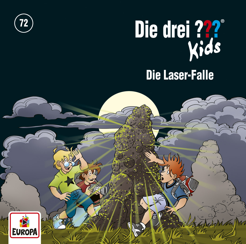 Die drei ??? Fragezeichen Kids - Folge 72: Die Laser-Falle