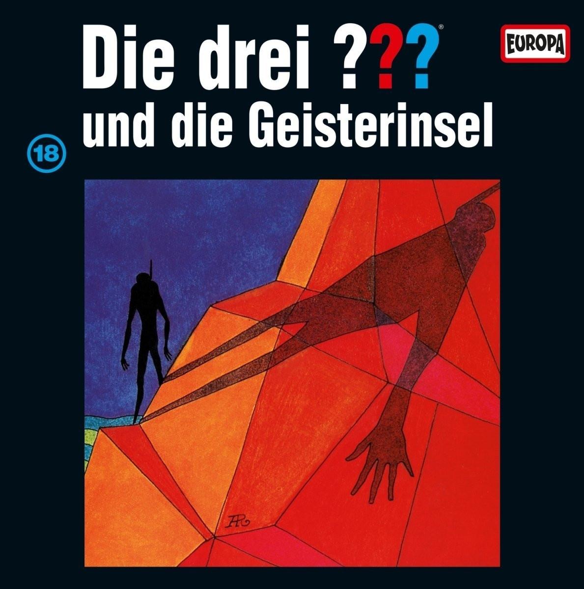 Die drei ??? Fragezeichen - Folge 18: ...und die Geisterinsel (Vinyl LP)