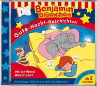 Benjamin Blümchen: Gute Nacht Geschichten 1 Wo ist Winnie Waschb