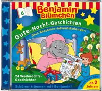 Benjamin Blümchen: Gute Nacht Geschichten 06 24 Weihnachtsgeschi
