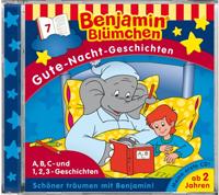 Benjamin Blümchen: Gute Nacht Geschichten 07 A, B, C- und 1, 2,