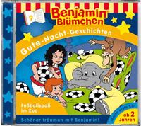 Benjamin Blümchen: Gute Nacht Geschichten 09 Fußballspaß im Zoo