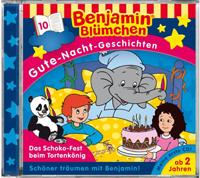 Benjamin Blümchen Gute Nacht Geschichten 10 Das Schoko-Fest beim