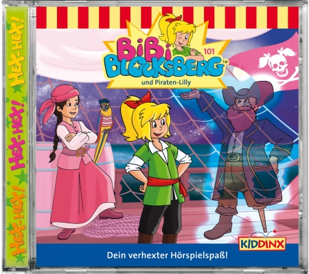 Bibi Blocksberg Folge 101 Bibi Blocksberg und Piraten-Lilly