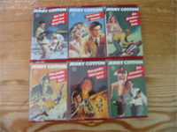 MC TSB Jerry Cotton Comiccover Folge 1 - 6 Komplett
