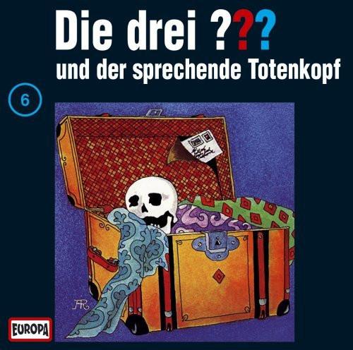Die drei Fragezeichen Folge 006 und der sprechende Totenkopf