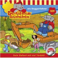 Benjamin Blümchen Folge 109 als Baggerfahrer