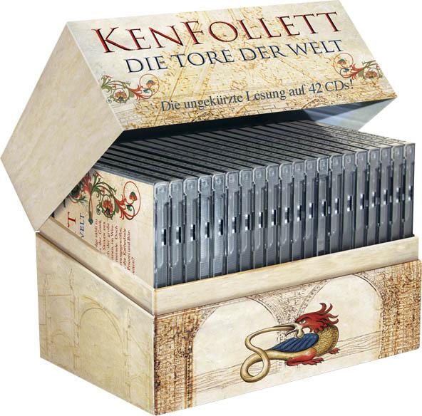 Ken Follett - Die Tore der Welt - ungekürzte Deluxe-Ausgabe