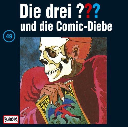 Die drei Fragezeichen Folge 049 und die Comic-Diebe