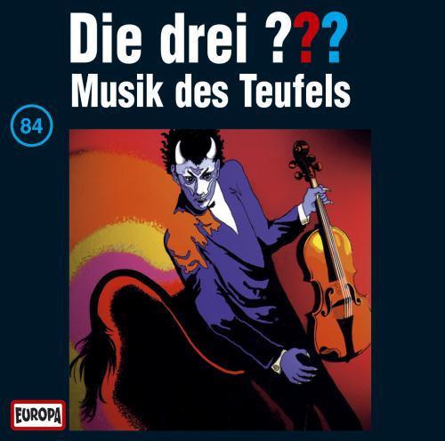 Die drei Fragezeichen Folge 084 Musik des Teufels