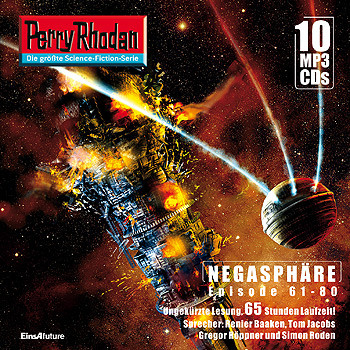 Perry Rhodan Negasphäre Box 4 Episode 61 - 80