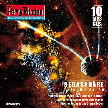 Perry Rhodan Negasphäre Box 4 Episode 61 - 80