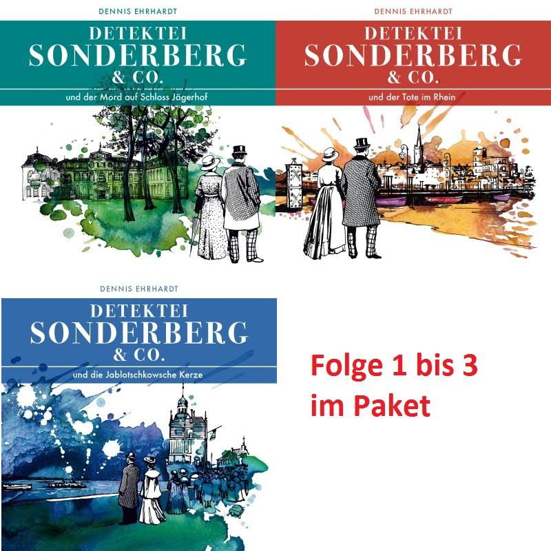 Sonderberg & Co. Starterpaket Folge 1 - 3