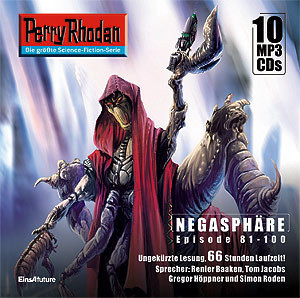 Perry Rhodan Negasphäre Box 5 Episode 81 - 100