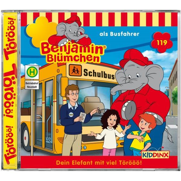 Benjamin Blümchen Folge 119 als Busfahrer
