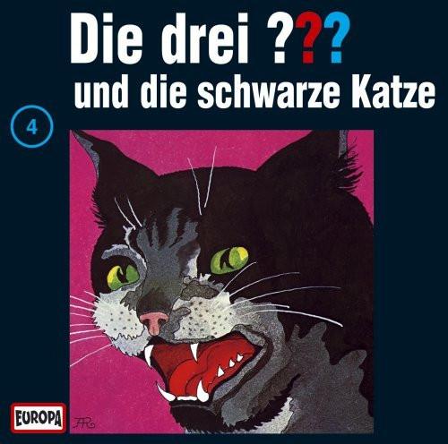 Die drei Fragezeichen Folge 004 und die schwarze Katze