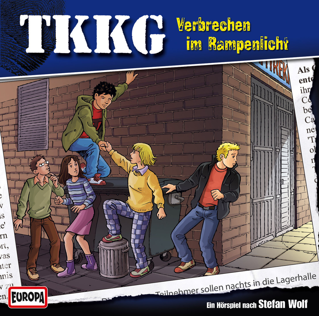 TKKG Folge 176 Verbrechen im Rampenlicht