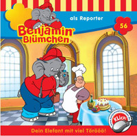 Benjamin Blümchen Folge 56 als Reporter