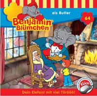 Benjamin Blümchen Folge 64 als Butler