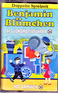 MC Kiosk Benjamin Blümchen Doppelfolge Lokomotivführer / Zahnweh