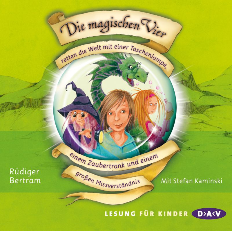 Rüdiger Bertram - Die magischen Vier - Teil 1