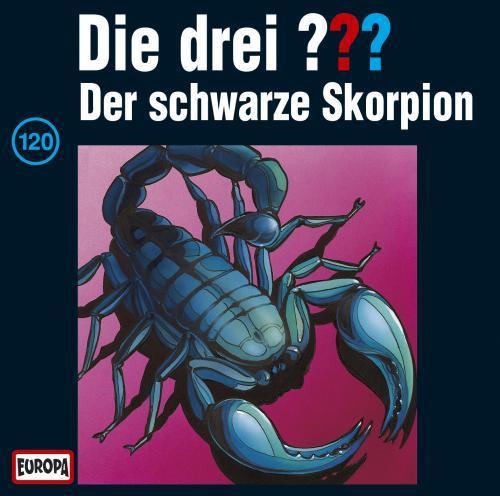 Die drei Fragezeichen Folge 120 Der schwarze Skorpion
