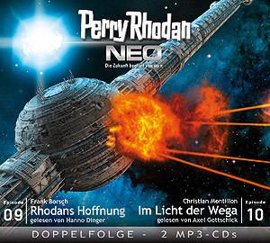 Perry Rhodan Neo MP3 Doppel-CD Folgen 09+10