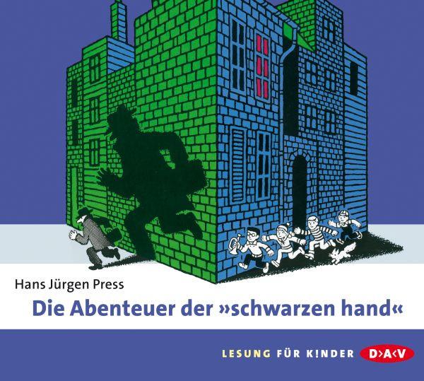 """Hans Jürgen Press - Die Abenteuer der """"schwarzen hand"""""""