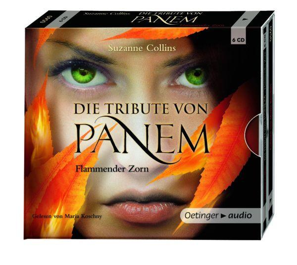 Die Tribute von Panem - Band 3: Flammender Zorn