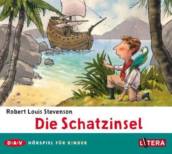 Robert Louis Stevenson - Die Schatzinsel - Hörspiel (Litera/DAV)