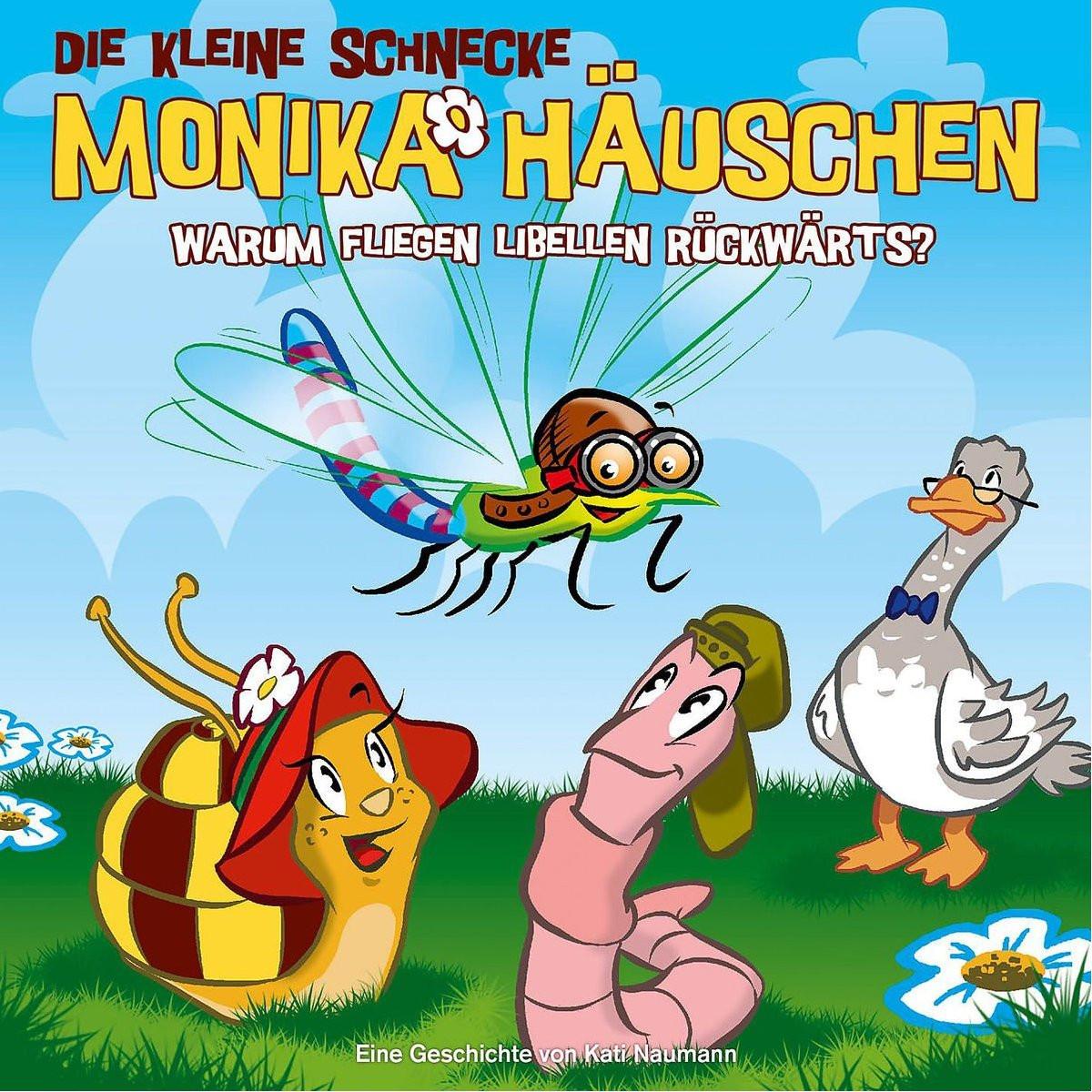 Monika Häuschen - 25: Warum fliegen Libellen rückwärts?