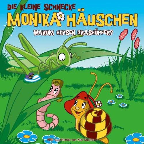 Monika Häuschen - 11: Warum hopsen Grashüpfer?