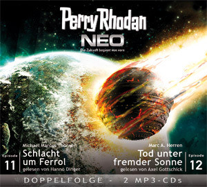 Perry Rhodan Neo MP3 Doppel-CD Folgen 11+12