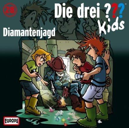 Die drei ??? Kids Folge 28 Diamantenjagd