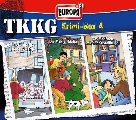 TKKG Krimi-Box 4