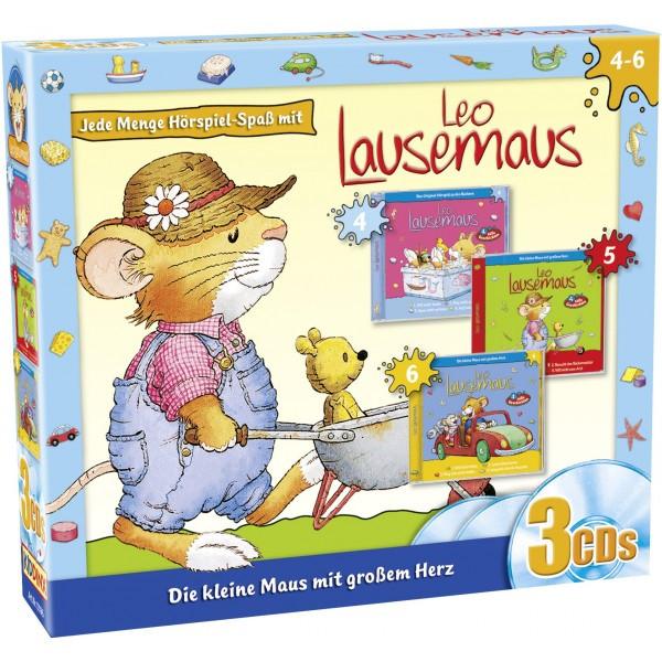 Leo Lausemaus: 3er Box (Folge 4 - 6)