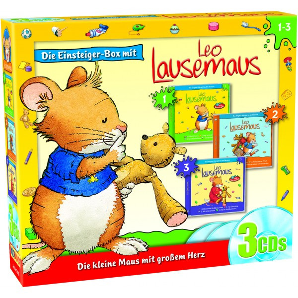 Leo Lausemaus: 3er Box (Folge 1 - 3)