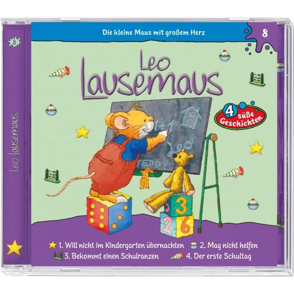 Leo Lausemaus - Folge 08: Der erste Schultag