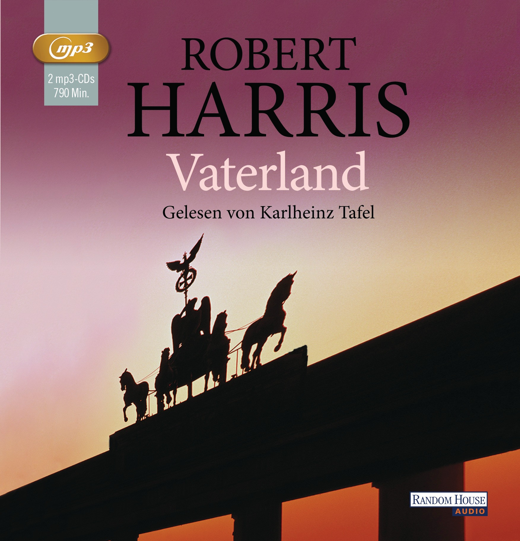 Robert Harris - Vaterland (mp3-CDs)
