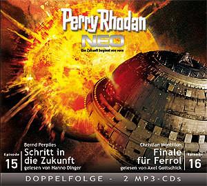 Perry Rhodan Neo MP3 Doppel-CD Folgen 15+16
