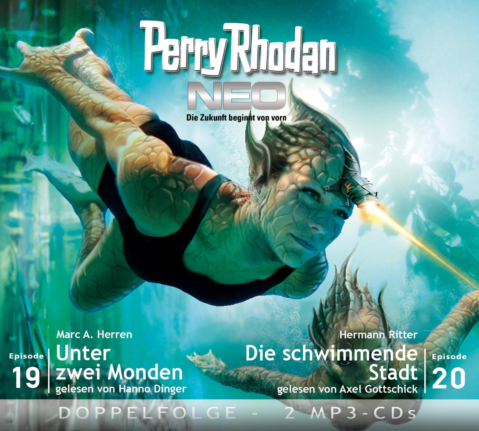 Perry Rhodan Neo MP3 Doppel-CD Folgen 19+20