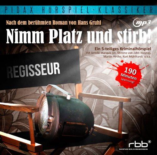 Pidax Hörspiel Klassiker - Nimm Platz und stirb