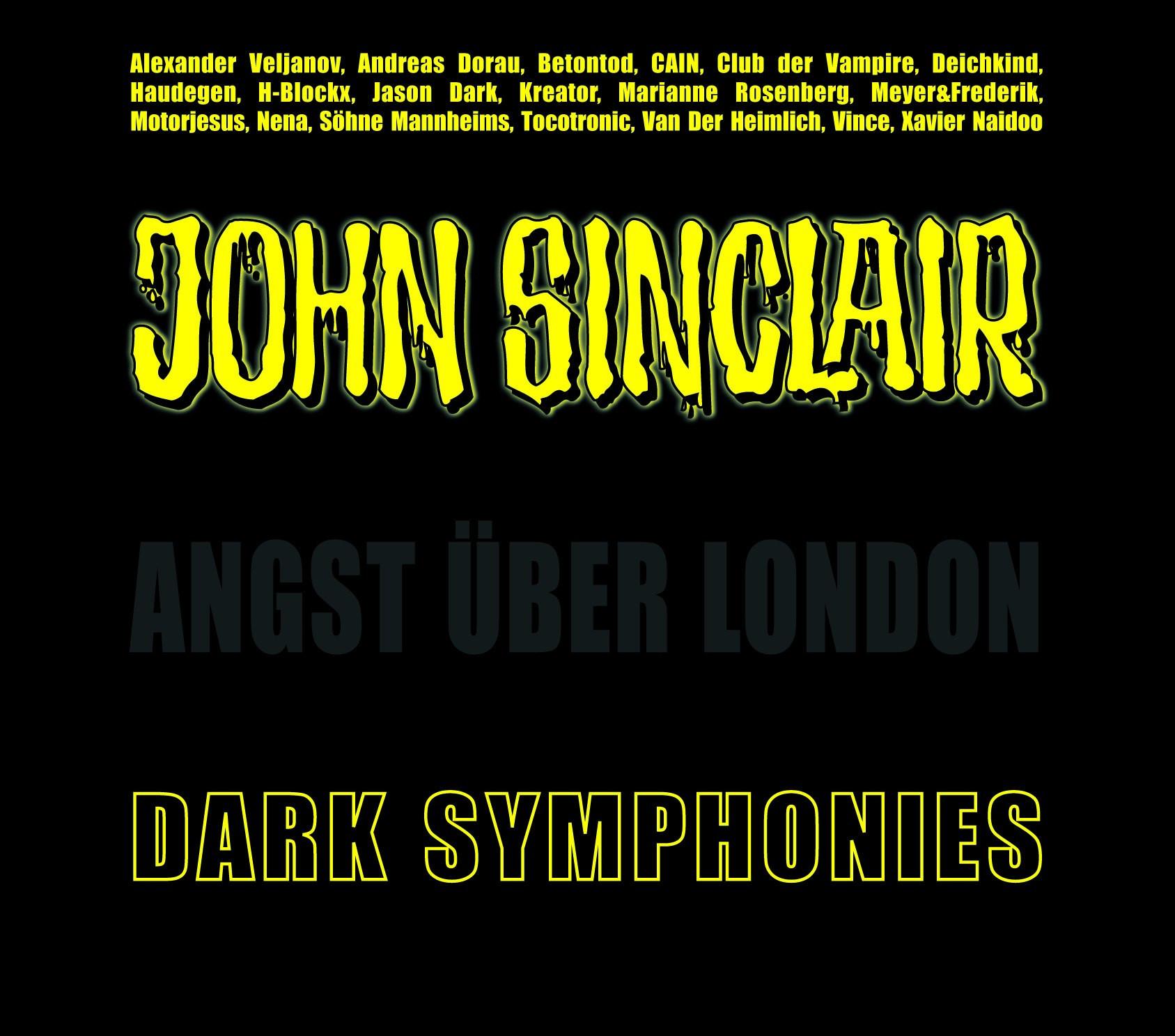 John Sinclair: Dark Symphonies / Angst über London