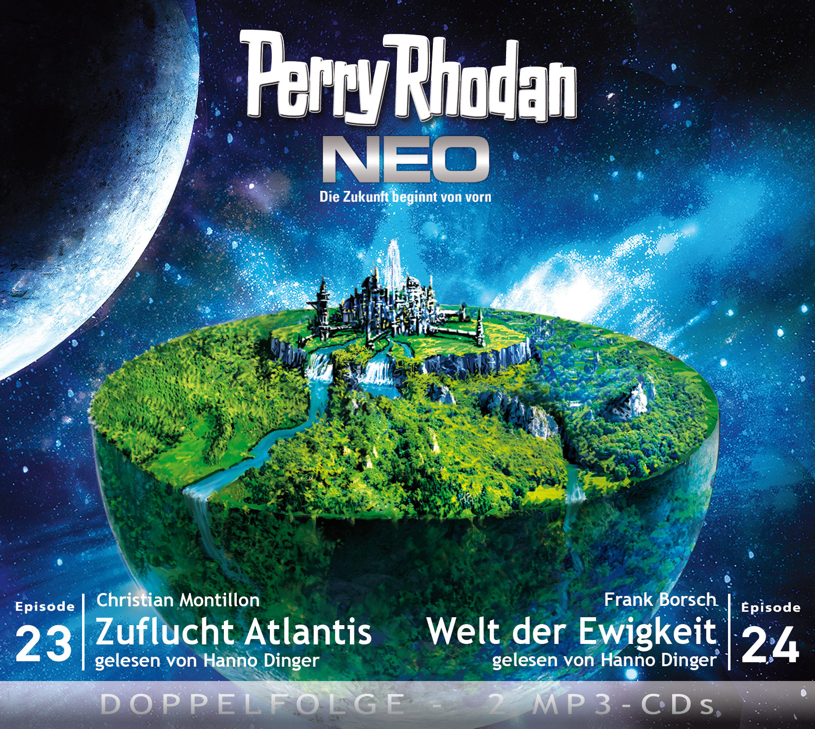 Perry Rhodan Neo MP3 Doppel-CD Folgen 23+24