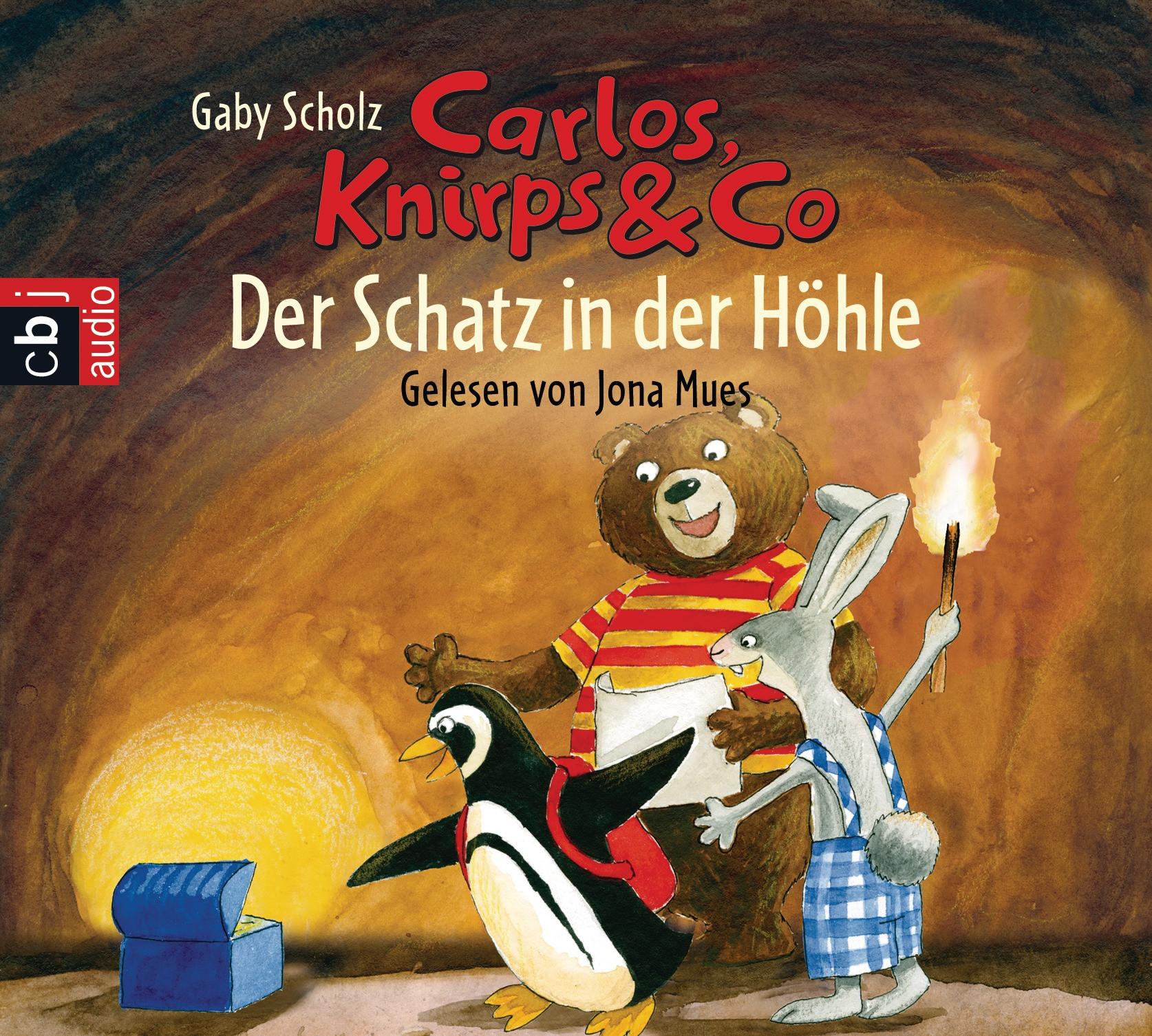 Carlos, Knirps & Co - Band 02: Der Schatz in der Höhle