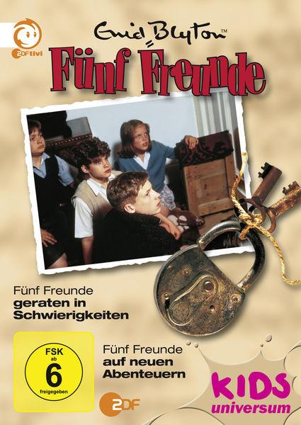 Fünf Freunde geraten in Schwierigkeiten / ...auf neuen Abenteuer